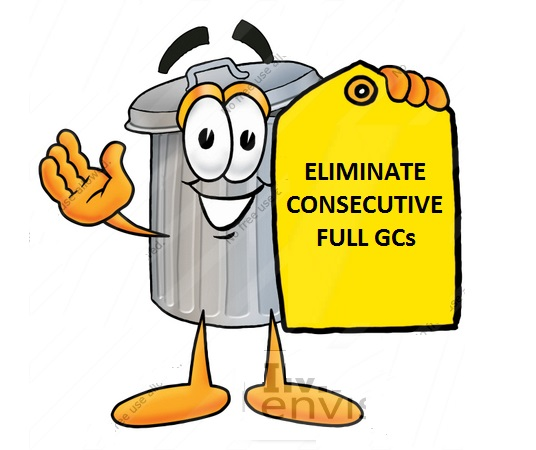 26574-clip-art-graphic-of-a-metal-trash-can-cartoon-character-holding-a-yellow-sales-price-tag-by-toons4biz